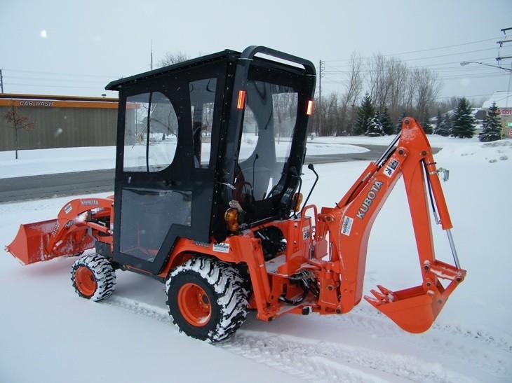 Kubota Tractor Cabs Amp Enclosers Atv Cabs Llc Appleton Wi