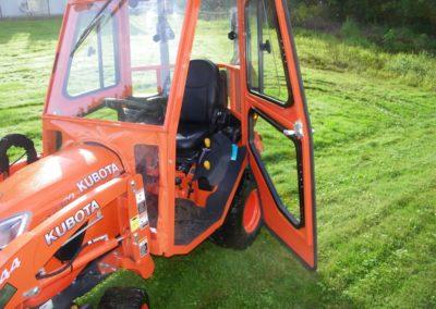 Kubota BX2380 Tractor Cab - Door Open-min
