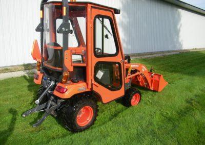 Kubota BX2380 Tractor Cab - Side-min