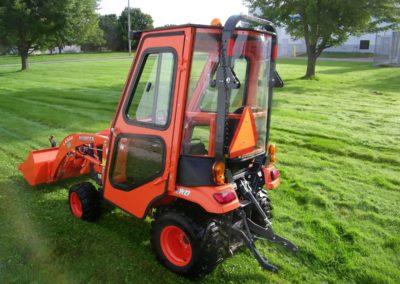 Kubota BX2380 Tractor Cab - Back-min