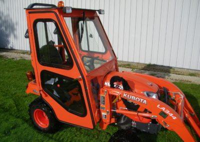 Kubota BX2380 Tractor Cab - Front-min